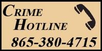 Crime Hotline Logo with Phone Number