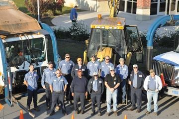 A group photo of the Street and Stormwater Services staff.