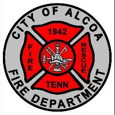 City of Alcoa Fire - Rescue Logo