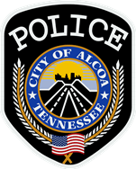 Alcoa Police Department patch worn on the police officers uniform