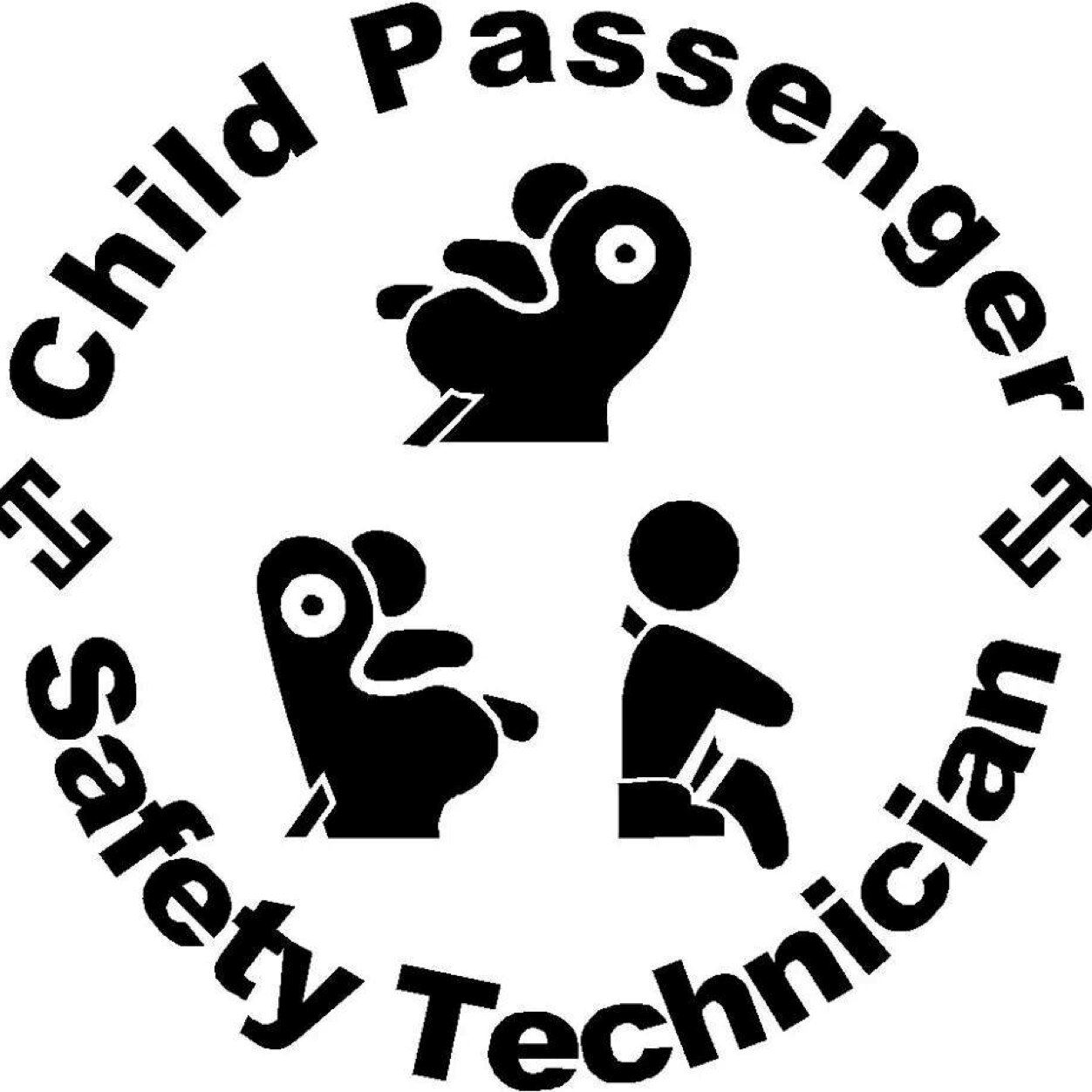 Child pasenger safety technician symbol