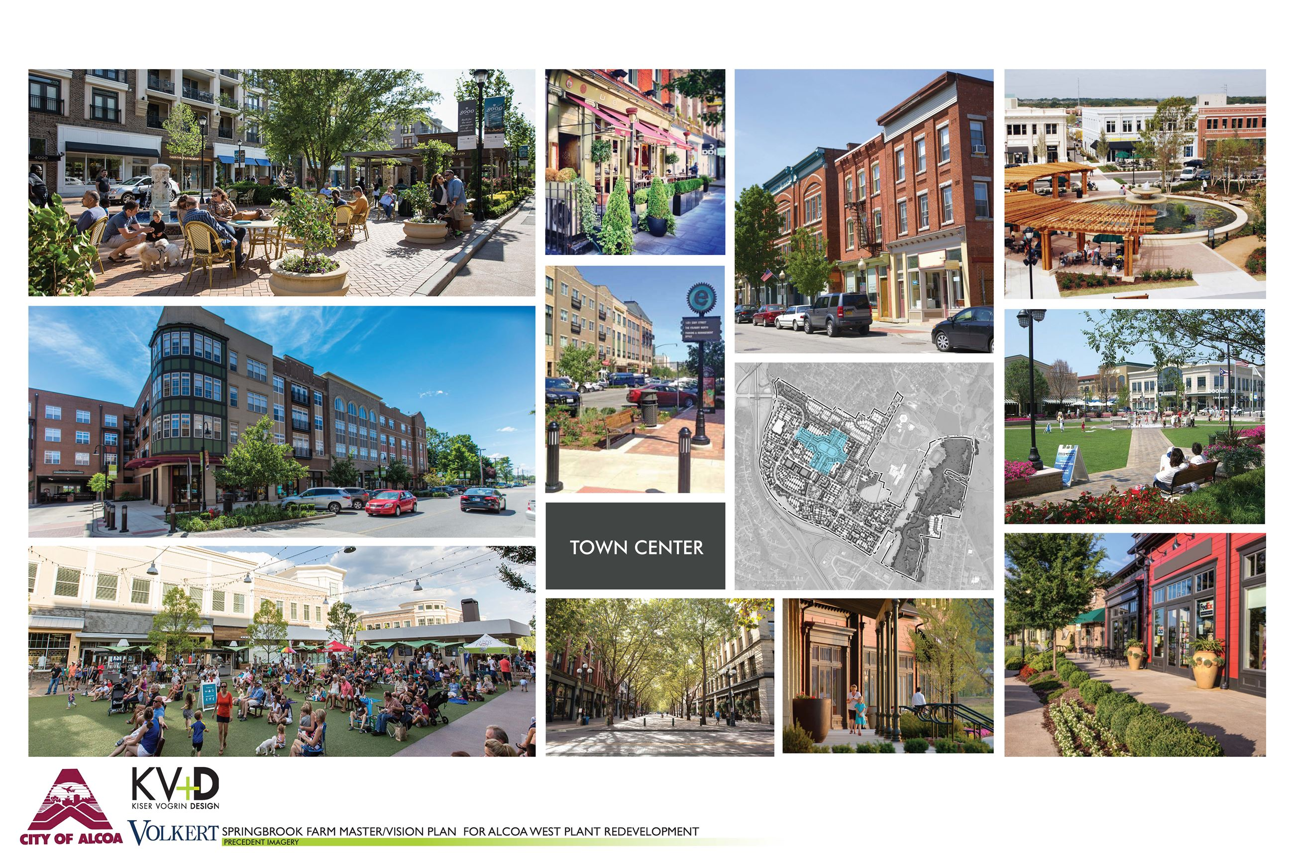 Springbrook Precedent Imagery - website town center image only Opens in new window
