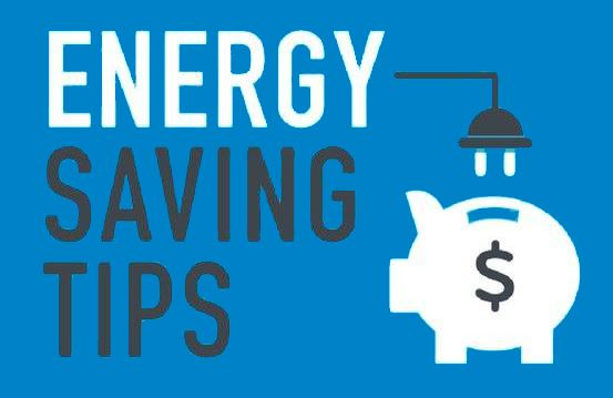 Energy Saving Tips image with a light bulb Opens in new window